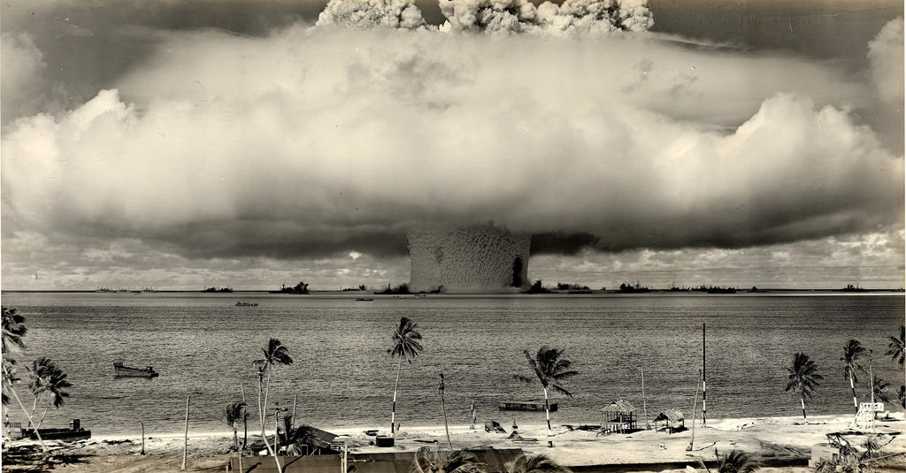 Four Letters and an Atomic Bomb: