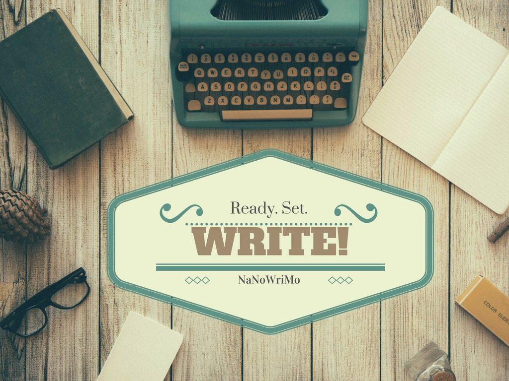 Project Update: Ready. Set. WRITE!