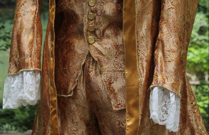 Costume Design: Lumiere's Gilded Suit & Candles
