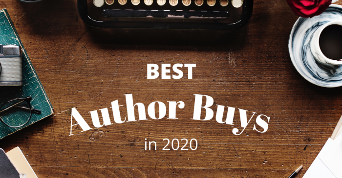My Top Author Buys in 2020 (#1)