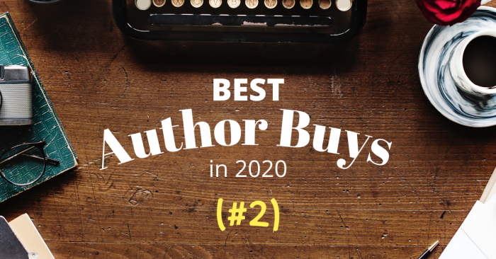 My Top Author Buys in 2020 (#2)